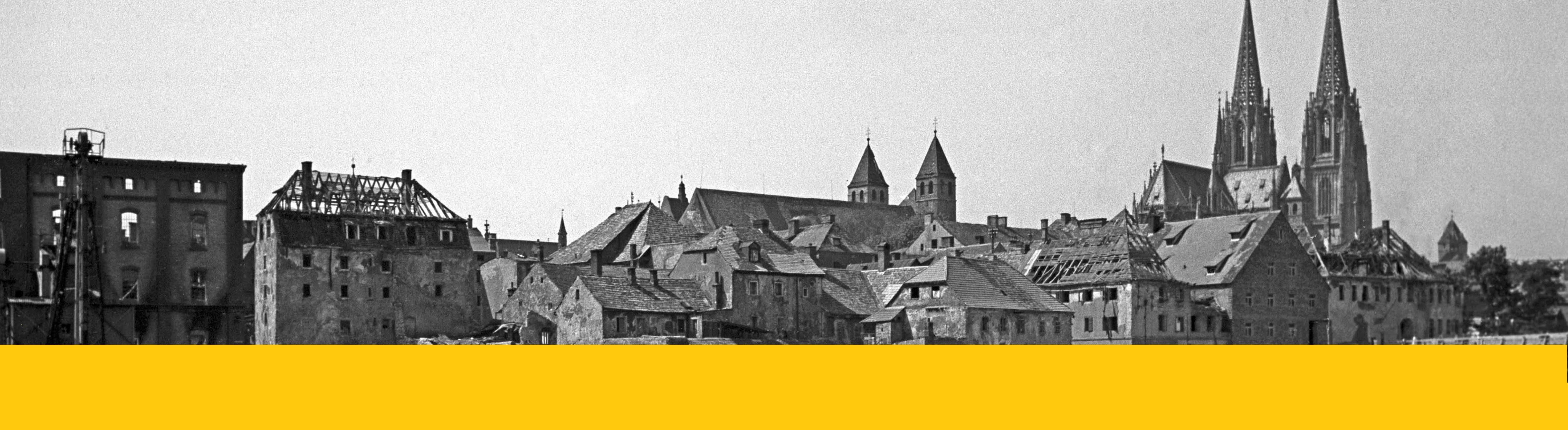 JETZT ONLINE: Digitale Ausstellung zum Kriegsende in Regensburg